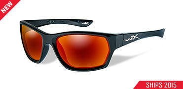 Wiley X Polarized Sunglasses - Moxy Crimson Mir/Gl Blk  Eyewear/Accessories Wiley X - Hook 1 Outfitters/Kayak Fishing Gear