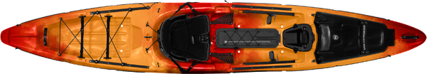 2015 Wilderness Systems - Thresher 140  Kayaks Wilderness Systems - Hook 1 Outfitters/Kayak Fishing Gear