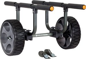 "Heavy Duty Kayak Cart - 12"" No Flat Wheels  Kayak Carts Wilderness Systems - Hook 1 Outfitters/Kayak Fishing Gear"