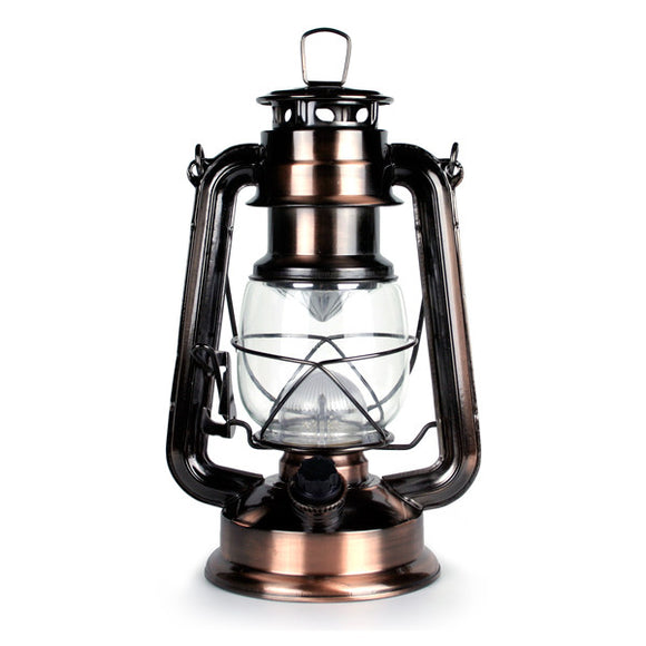 Weatherrite 15 L.E.D. Brass Lantern  Lights and Lighting Nebo - Hook 1 Outfitters/Kayak Fishing Gear