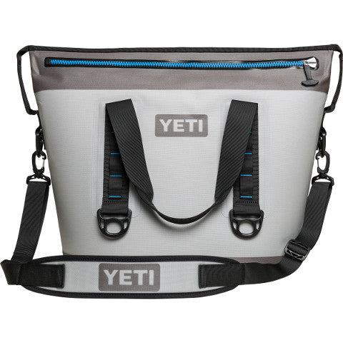 Hopper Two 30 Fog Gray Cooler Yeti - Hook 1 Outfitters/Kayak Fishing Gear