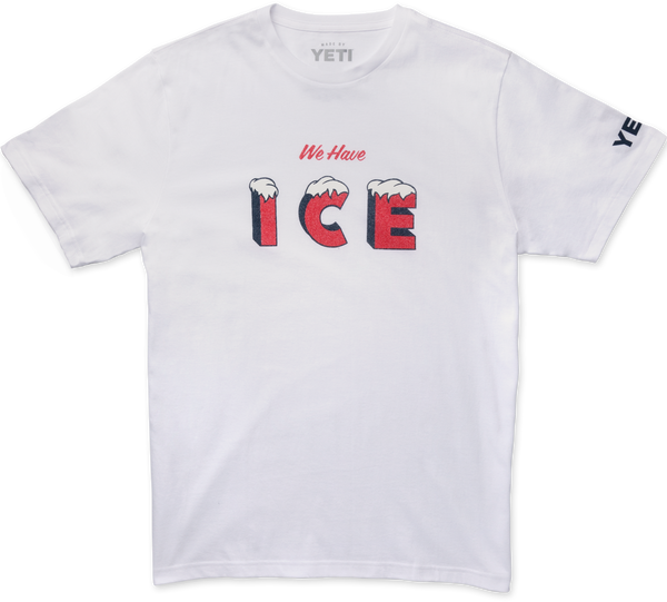 Ice for Days Short Sleeve Shirt  Apparel Yeti - Hook 1 Outfitters/Kayak Fishing Gear