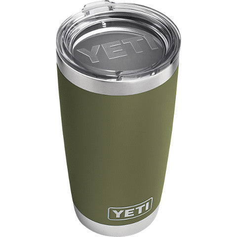 20 Oz Rambler Olive Green  Cooler Yeti - Hook 1 Outfitters/Kayak Fishing Gear