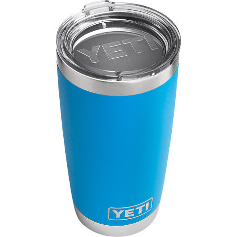20 Oz Rambler Tahoe Blue  Cooler Yeti - Hook 1 Outfitters/Kayak Fishing Gear