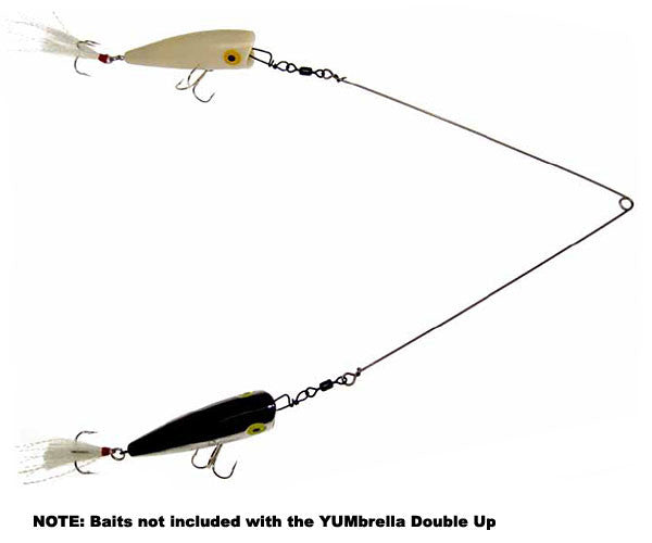 Yum Yumbrella Double Up Rig - Double Up Rig  Lures - Rigs Yum Lures - Hook 1 Outfitters/Kayak Fishing Gear