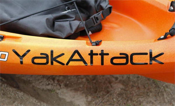 "YakAttack Sticker - 12"" X 1.25""  Accessories YakAttack - Hook 1 Outfitters/Kayak Fishing Gear"