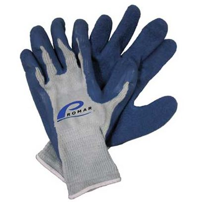 AMERICAN MAPLE GRIP GLOVE BLUE LATEX LARGE  Fishing Accessories American Maple - Hook 1 Outfitters/Kayak Fishing Gear