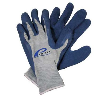 AMERICAN MAPLE GRIP GLOVE BLUE LATEX X-LARGE  Fishing Accessories American Maple - Hook 1 Outfitters/Kayak Fishing Gear