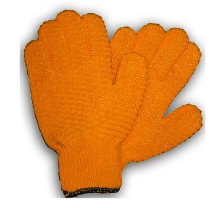 AMERICAN MAPLE GRIP GLOVE HONEY COMBED ORANGE LARGE  Fishing Accessories American Maple - Hook 1 Outfitters/Kayak Fishing Gear