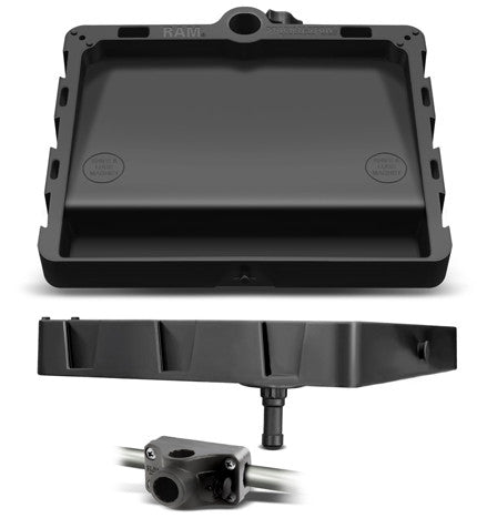 RAM STACK-N-STOW™ Bait Board with Combination Bulkhead Rail Adapter Kit  Boards RAM - Hook 1 Outfitters/Kayak Fishing Gear
