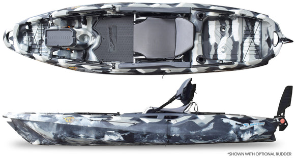 Big Fish 105 URBAN CAMO Kayaks 3 Waters - Hook 1 Outfitters/Kayak Fishing Gear