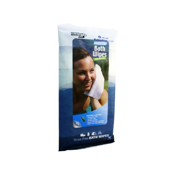 Adventure® Bath Wipes, Pkg./8  Hygiene Adventure Medical Kit - Hook 1 Outfitters/Kayak Fishing Gear