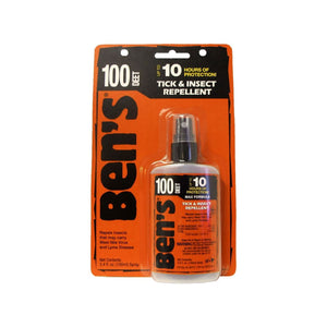 Ben's® 100 Pump, 3.4 oz  Insect Repellent Ben's - Hook 1 Outfitters/Kayak Fishing Gear