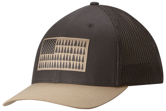 COLUMBIA MESH™ BALLCAP SHARK /  TREE FLAG  Hats Columbia - Hook 1 Outfitters/Kayak Fishing Gear