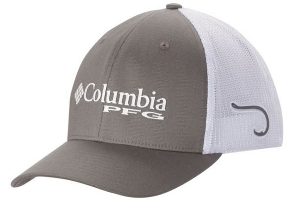 PFG MESH™ BALL CAP TITANIUM / HOOK  Hats Columbia - Hook 1 Outfitters/Kayak Fishing Gear