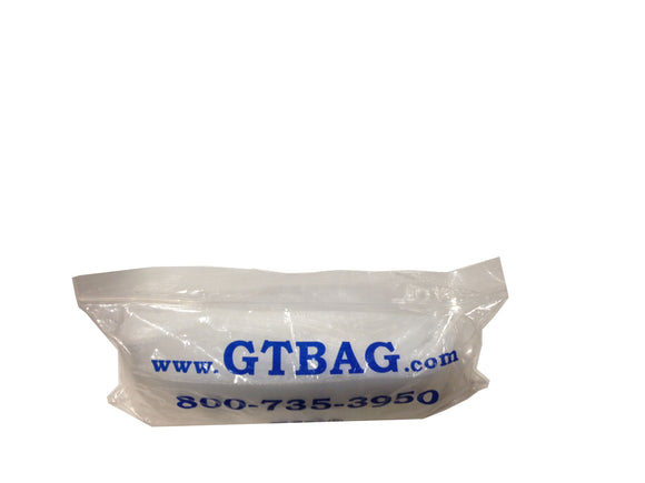 G.T. PLASTIC OPEN TOP BAGS 2x8in1000bg  Fishing Accessories G.T. Bag Company - Hook 1 Outfitters/Kayak Fishing Gear