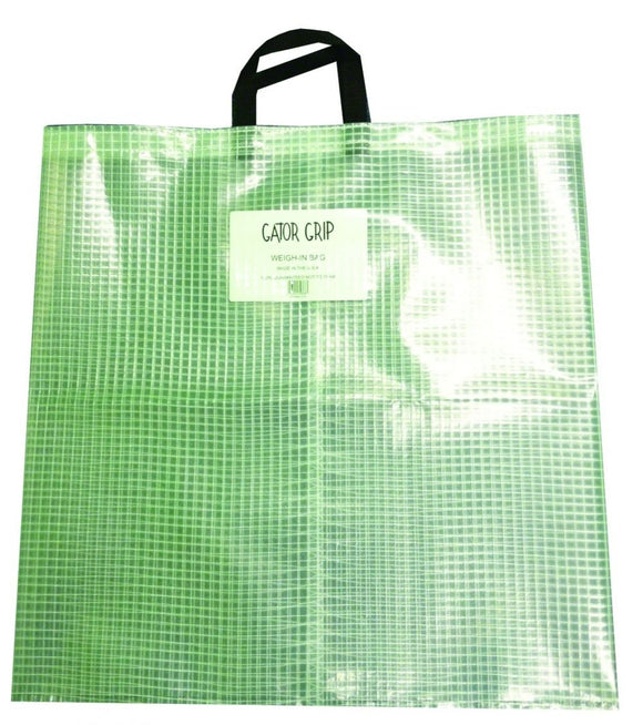 GATOR GRIP WEIGH IN BAG CLEAR  Fishing Accessories Gator Grip - Hook 1 Outfitters/Kayak Fishing Gear