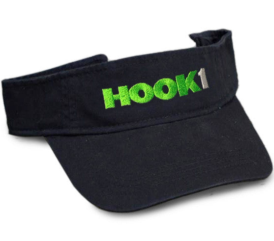 CLOSEOUT: HOOK 1 Visor  Hats HOOK 1 - Hook 1 Outfitters/Kayak Fishing Gear