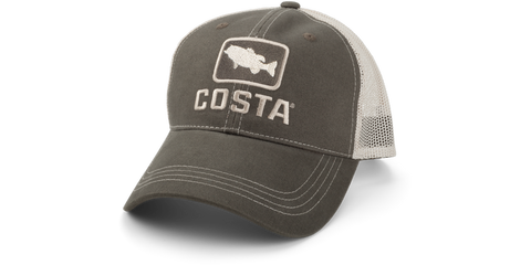 Costa XL Trout Trucker Hat