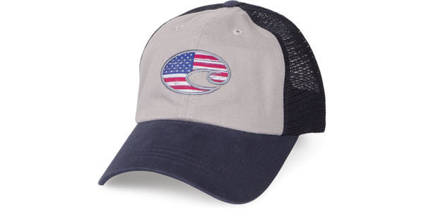 UNITED TRUCKER HAT NAVY/GRAY  Hats Costa - Hook 1 Outfitters/Kayak Fishing Gear