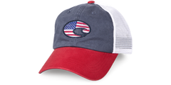 UNITED TRUCKER HAT RED/WHITE/NAVY