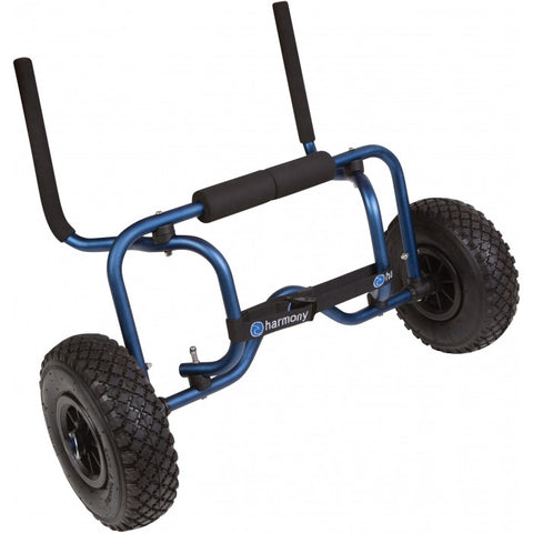 Harmony Sit-on-Top Cart with Pneumatic All-Terrain Tires