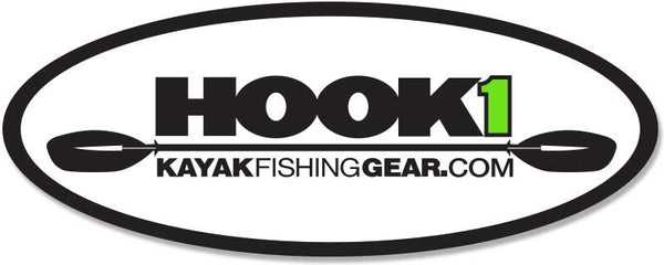 HOOK 1 Oval Decal - 5