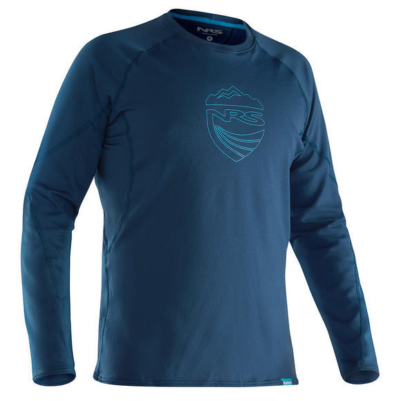 NRS Men's H2Core Lightweight Shirt - Closeout Moroccan Blue / S Tops NRS - Hook 1 Outfitters/Kayak Fishing Gear