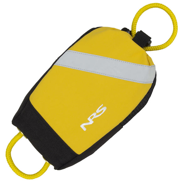 NRS Wedge Rescue Throw Bag Yellow Rescue and Safety NRS - Hook 1 Outfitters/Kayak Fishing Gear