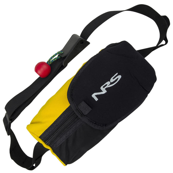 NRS Pro Guardian Wedge Waist Throw Bag  Rescue and Safety NRS - Hook 1 Outfitters/Kayak Fishing Gear