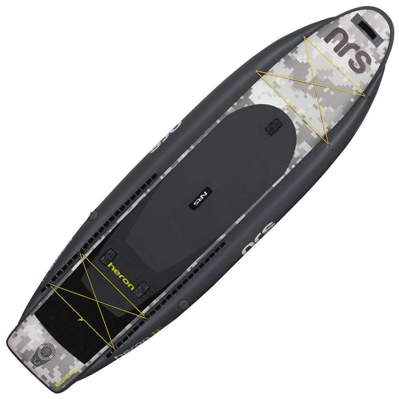 Heron Fishing Inflatable SUP Board  SUP Board NRS - Hook 1 Outfitters/Kayak Fishing Gear