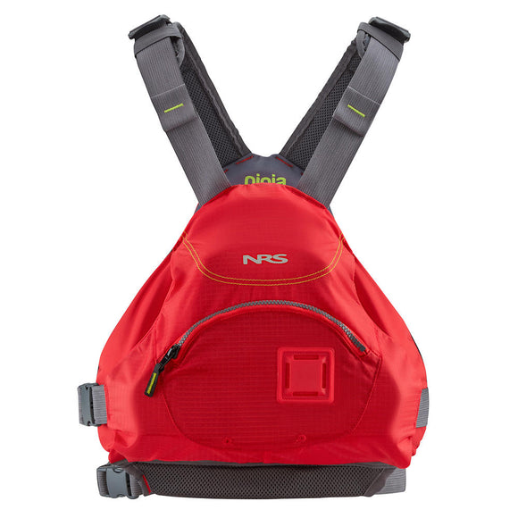 NRS Ninja PFD - CLOSEOUT Red / S/M Life Jackets - PFDs and FLOTATION NRS - Hook 1 Outfitters/Kayak Fishing Gear