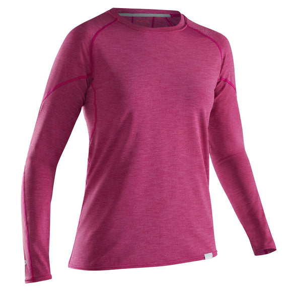 NRS Women's H2Core Silkweight Long-Sleeve Shirt Orchid / XS Tops NRS - Hook 1 Outfitters/Kayak Fishing Gear