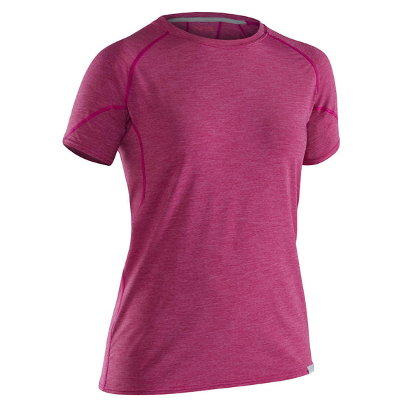 NRS Women's H2Core Silkweight Short-Sleeve Shirt  Tops NRS - Hook 1 Outfitters/Kayak Fishing Gear