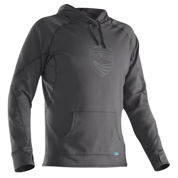 NRS Men's H2Core Lightweight Hoodie Gunmetal / Small Tops NRS - Hook 1 Outfitters/Kayak Fishing Gear