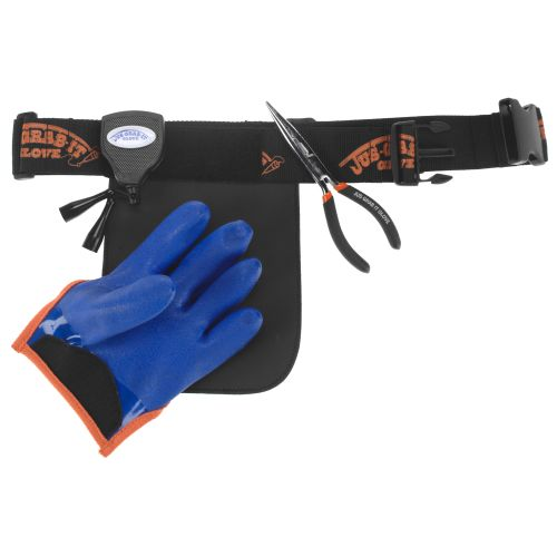JUS-GRAB-IT GLOVE LEFT LARGE GLOVE/BELT/PLIERS  Fishing Accessories Just-Grab-It - Hook 1 Outfitters/Kayak Fishing Gear