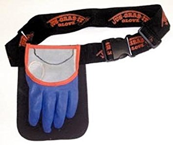 JUS-GRAB-IT GLOVE/BELT LEFT LARGE  Fishing Accessories Just-Grab-It - Hook 1 Outfitters/Kayak Fishing Gear