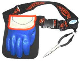 JUS-GRAB-IT GLOVE RIGHT LRG GLOVE/BELT/PLIERS  Fishing Accessories Just-Grab-It - Hook 1 Outfitters/Kayak Fishing Gear