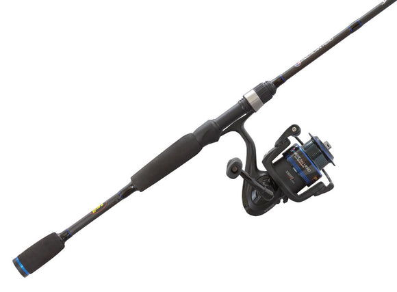 LEWS AMERICAN HERO SPIN COMBO SPINNING 6ft 6in M 2pc  Rod & Reel Combos Lews - Hook 1 Outfitters/Kayak Fishing Gear