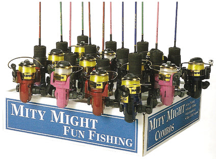 MASTER RODDY HUNTER MINI COMBO SPINNING 2ft 1pc ASST COLORS  Rod & Reel Combos Master Fishing - Hook 1 Outfitters/Kayak Fishing Gear