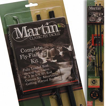 MARTIN FLY COMBO FLY 5/6 w/LINE/TACKLE 8ft 2pc  Rod & Reel Combos Martin - Hook 1 Outfitters/Kayak Fishing Gear