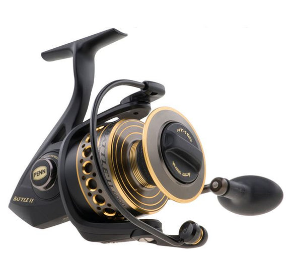 PENN BATTLE II REEL SPINNING 5bb+1rb 230/20  Reels - Spinning Penn - Hook 1 Outfitters/Kayak Fishing Gear