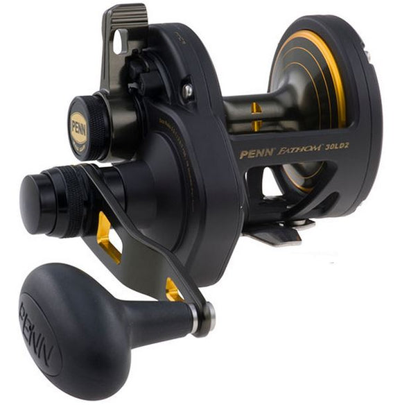 PENN FATHOM LEVER DRAG 2 REEL CONV 5bb 5.0:1/2.5:1 410/30  Reels - Conventional Penn - Hook 1 Outfitters/Kayak Fishing Gear