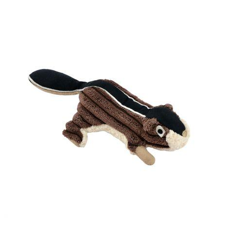 Plush Chipmunk with Squeaker  Pet Tall Tails - Hook 1 Outfitters/Kayak Fishing Gear