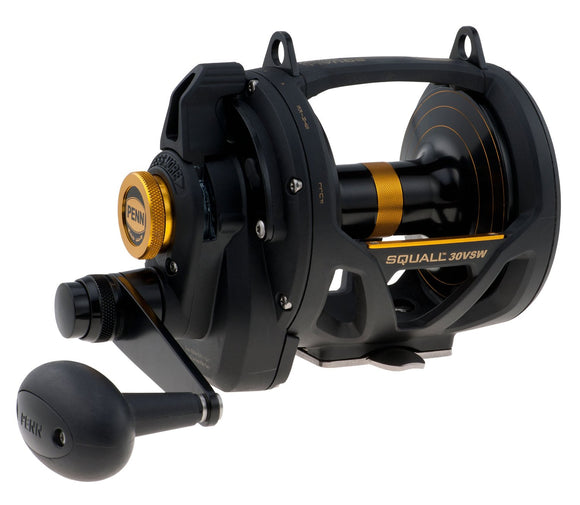 PENN SQUALL LVR DRAG 2SPD REEL CONV 4bb 4.2:1/1.8:1 1035/30  Reels - Conventional Penn - Hook 1 Outfitters/Kayak Fishing Gear