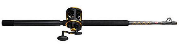 PENN SQUALL LEVER DRAG COMBO CONV 40LD 20-40# 7ft 1pc  Rod & Reel Combos Penn - Hook 1 Outfitters/Kayak Fishing Gear