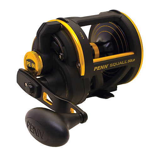 PENN SQUALL LEVER DRAG REEL CONV 6bb 5.1:1 360/30  Reels - Conventional Penn - Hook 1 Outfitters/Kayak Fishing Gear