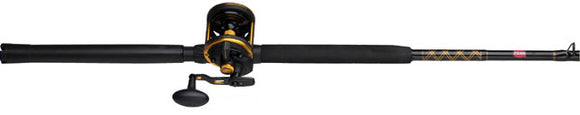 PENN SQUALL LEVER DRAG COMBO CONV 50LD 30-50# 6ft 6in 1pc  Rod & Reel Combos Penn - Hook 1 Outfitters/Kayak Fishing Gear