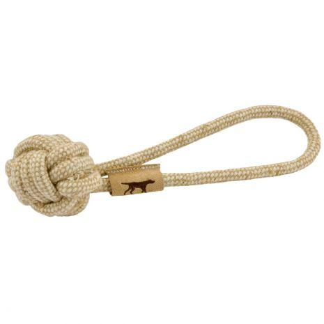 Natural Cotton and Jute Tug  Pet Tall Tails - Hook 1 Outfitters/Kayak Fishing Gear