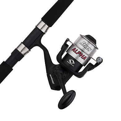 SHAKESPEARE ALPHA COMBO SPINNING 60sz 1bb 9ft 2pc MH  Rod & Reel Combos Shakespeare - Hook 1 Outfitters/Kayak Fishing Gear